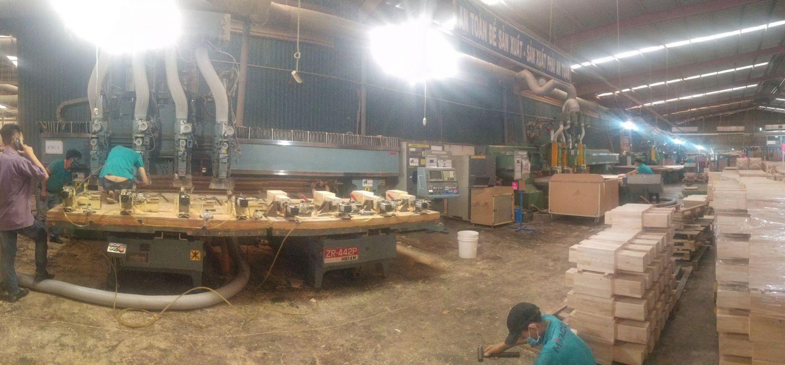 Sửa chữa đại tu máy chế biến gỗ